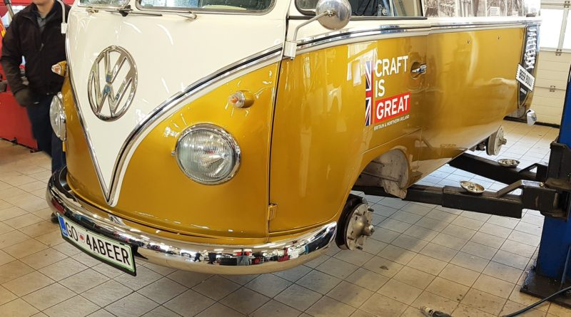 Beer bulli volkswagen t1 Špan center